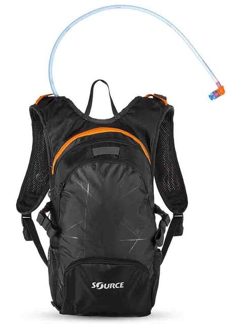SOURCE Fuse Trinkrucksack 2+6l Black/Orange